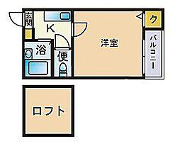 エクセル室見[2階]の間取り