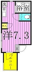 MELDIA梅田A[2階]の間取り
