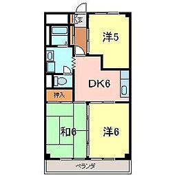 昭和レジデンス2[404号室]の間取り