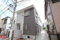 東京都中野区南台5丁目の賃貸アパートの外観