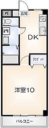 ピュアセレーナ21[205号室]の間取り