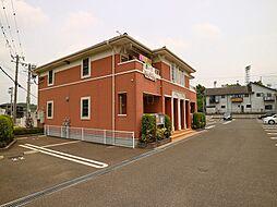 福岡県遠賀郡岡垣町野間南の賃貸アパートの外観