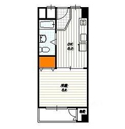 クラウンコーポ[4階]の間取り
