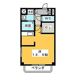 ウィステリアワカヤマ3(Wisteria Wakayama[1階]の間取り