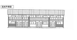 シエロ・ガーデン国府A[1階]の外観