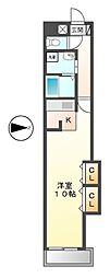 パルタマレ神宮[4階]の間取り