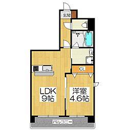仮)京都山科三条マンション[2階]の間取り