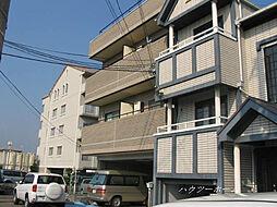京都府京都市左京区松ケ崎久土町の賃貸マンションの外観
