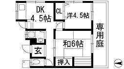 [テラスハウス] 兵庫県川西市久代4丁目 の賃貸【/】の間取り