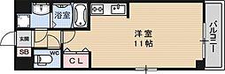グランシャリオB棟[106号室号室]の間取り
