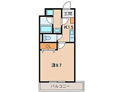 カーサ・S[2階]の間取り