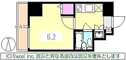 東京都八王子市八日町の賃貸マンションの間取り