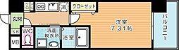 CENTER MARK三萩野[804号室]の間取り