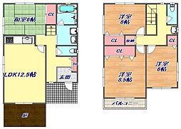 [タウンハウス] 兵庫県神戸市東灘区本山中町1丁目 の賃貸【/】の間取り