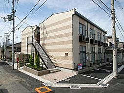 兵庫県尼崎市道意町の賃貸アパートの外観