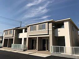 埼玉県上尾市小泉8丁目の賃貸アパートの外観
