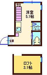 仮)松見町1丁目 AVAND[2階]の間取り