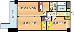 LEON篠崎 A[2階]の間取り
