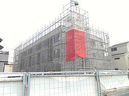 千葉県船橋市行田1丁目の賃貸アパートの外観