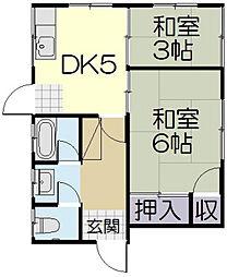 [一戸建] 三重県松阪市船江町 の賃貸【/】の間取り