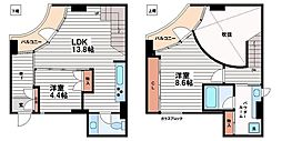La Suite(ラ・スイート)[4階]の間取り