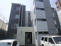 北海道札幌市北区北37条西3丁目の賃貸マンションの外観