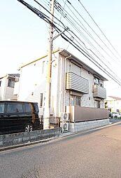 埼玉県志木市幸町の賃貸アパートの外観