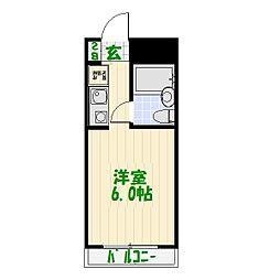 トップ亀有[4階]の間取り