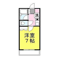 兵庫県姫路市栗山町の賃貸アパートの間取り