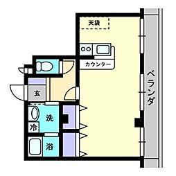 メゾンSEI[2階]の間取り