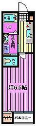 マ・メゾン大宮[201号室]の間取り