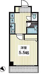 瑞穂第一ビル 7階1Kの間取り