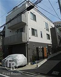 東京都品川区大崎4丁目の賃貸アパートの外観