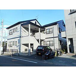 静岡県浜松市浜北区横須賀の賃貸アパートの外観