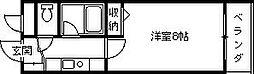 プレステージフジ西宮壱番館[302号室]の間取り