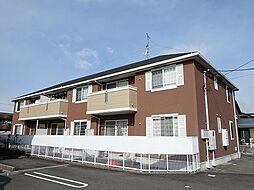 岐阜県岐阜市長良友瀬の賃貸アパートの外観
