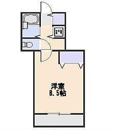 煉瓦館イ−ストフェイス[3階]の間取り