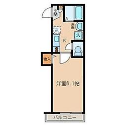 東京都豊島区南大塚1丁目の賃貸アパートの間取り