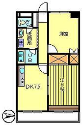 第3ウツイビル[5階]の間取り