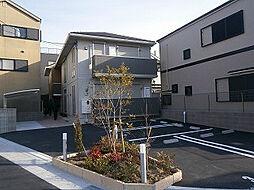 大阪府高槻市芝生町2丁目の賃貸アパートの外観