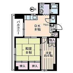 第2町田ビル[4階]の間取り