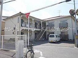 岡山県岡山市北区伊島町2丁目の賃貸アパートの外観