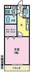 プティフルール[1階]の間取り