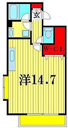 リバービュー21[5階]の間取り