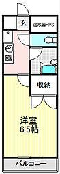 香の木ハイツ[305号室]の間取り