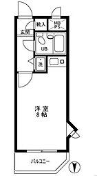 ライオンズマンション中村第2[3階]の間取り