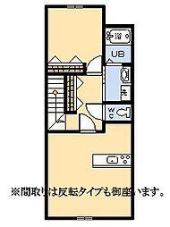 (新築)ア・シンプル[203号室]の間取り