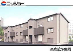 仮)姫小川町新築アパート東棟[1階]の外観