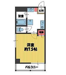COZY HOUSE URAWA[301号室]の間取り