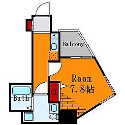 ル・リオン東向島[7階]の間取り